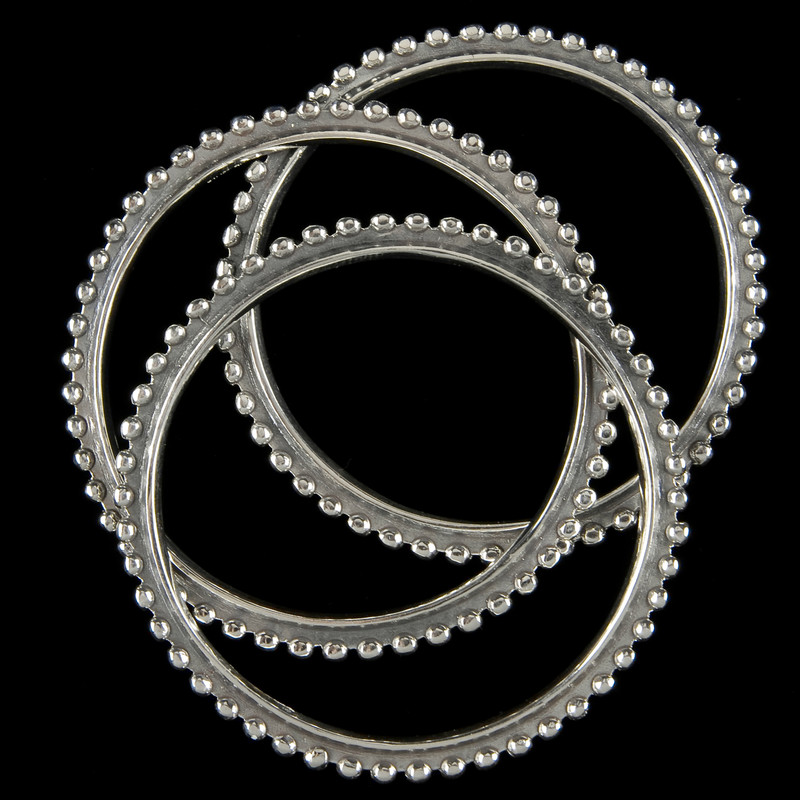 Bangle Bracelets, Sterling Silver, handmade by Bowman Originals, Sarasota, 941-302-9594