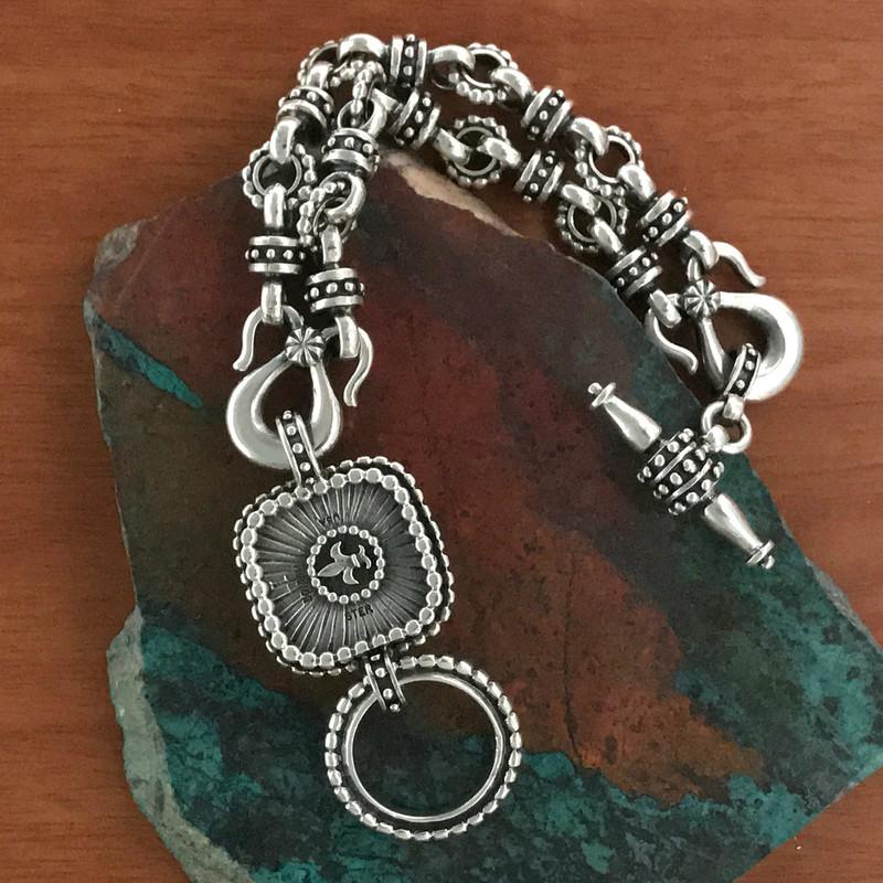 Sterling Silver handmade bracelet details | Bowman Originals