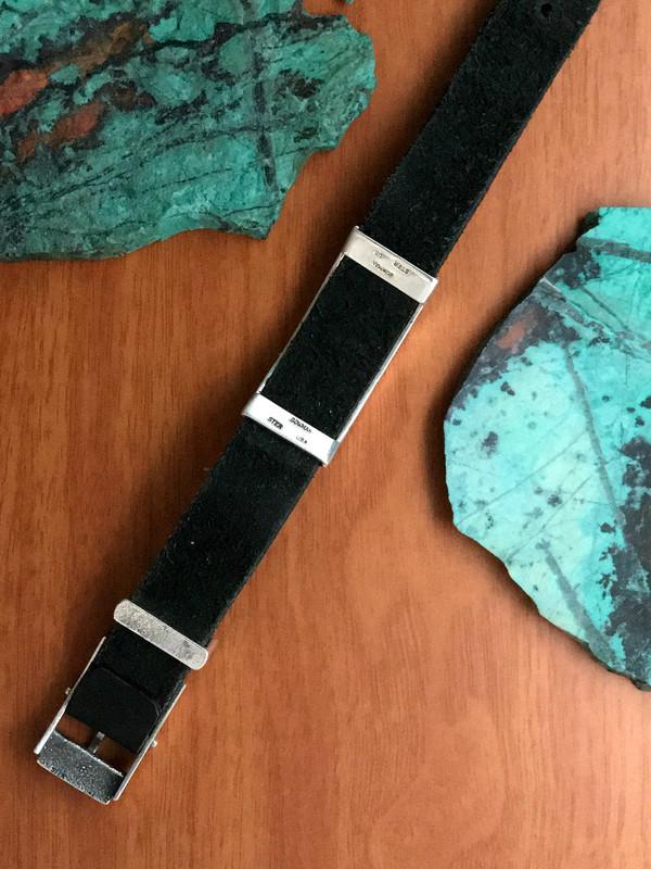 Underside of Sterling Silver Slide Bracelet, Buckle | Bowman Originals
