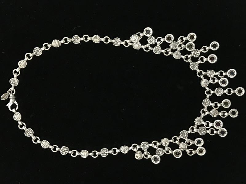 Back side of Bib Necklace, handmade, Bowman Originals, Sarasota, 941-302-9594