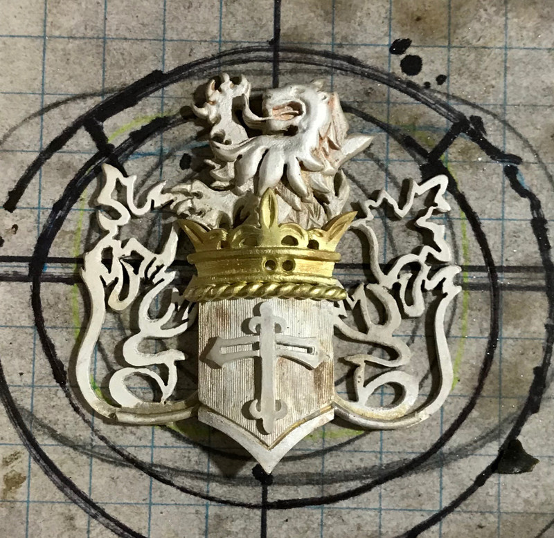 Creating a Custom Crest Necklace