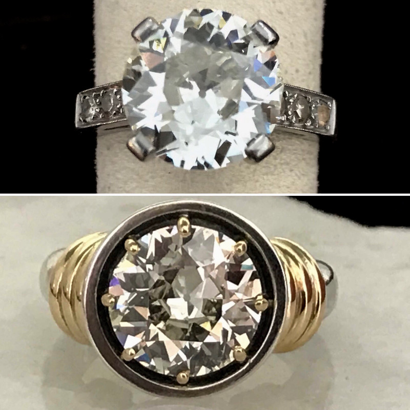 Redesign your Diamond Ring for today's casual lifestyle.