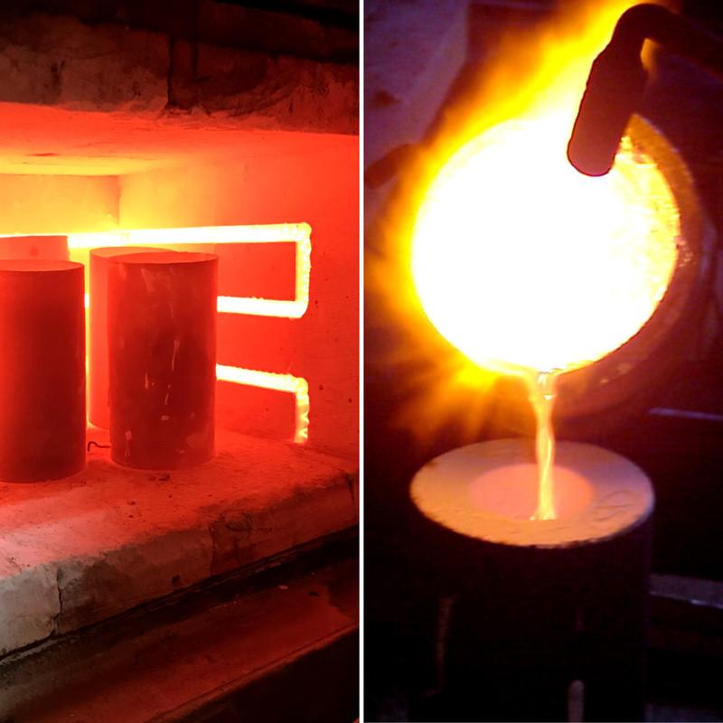 Pouring Precious Metal