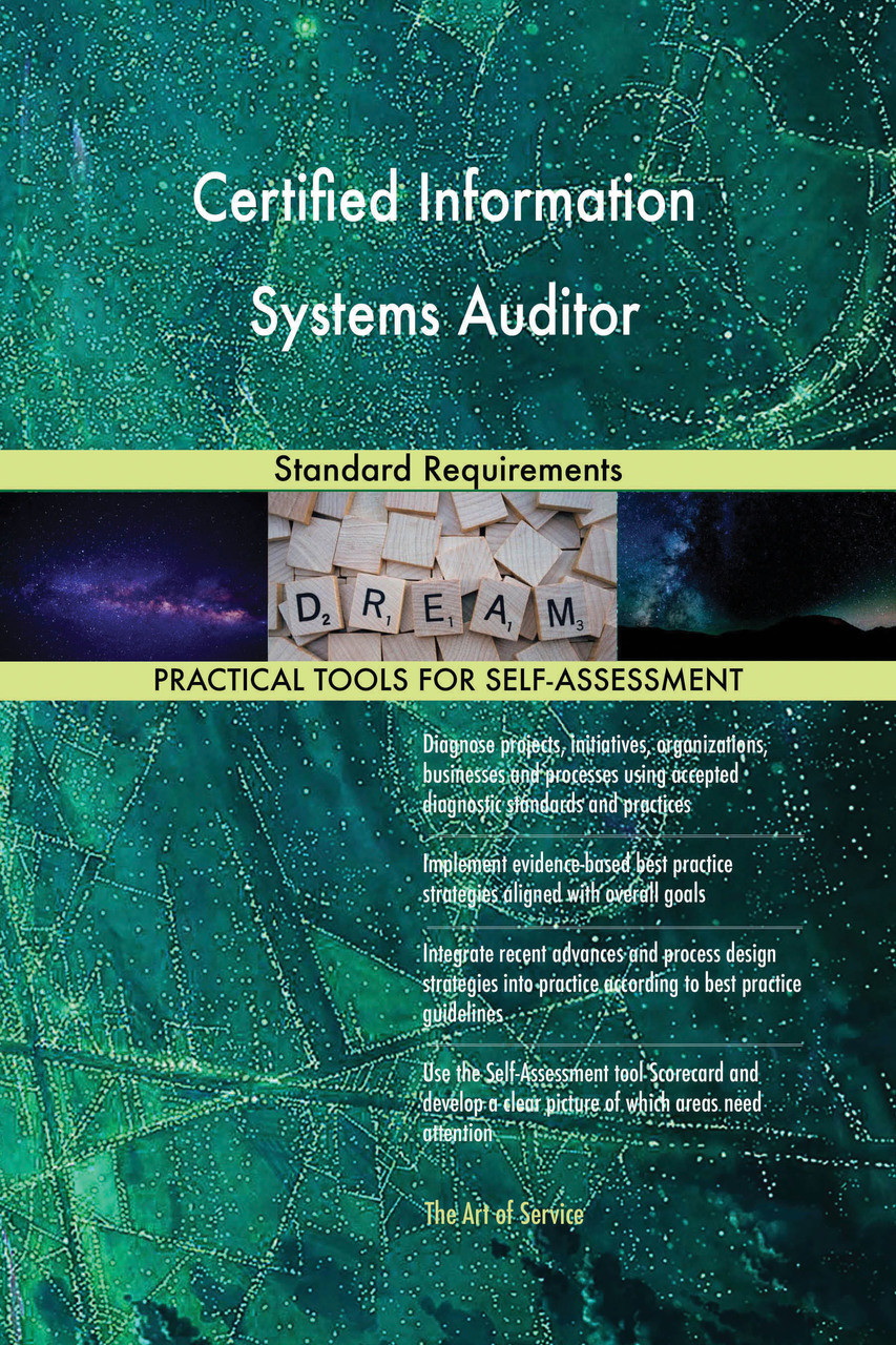 9780655189428 Certified Information Systems Auditor Standard Requirements By Blokdyk Gerardus