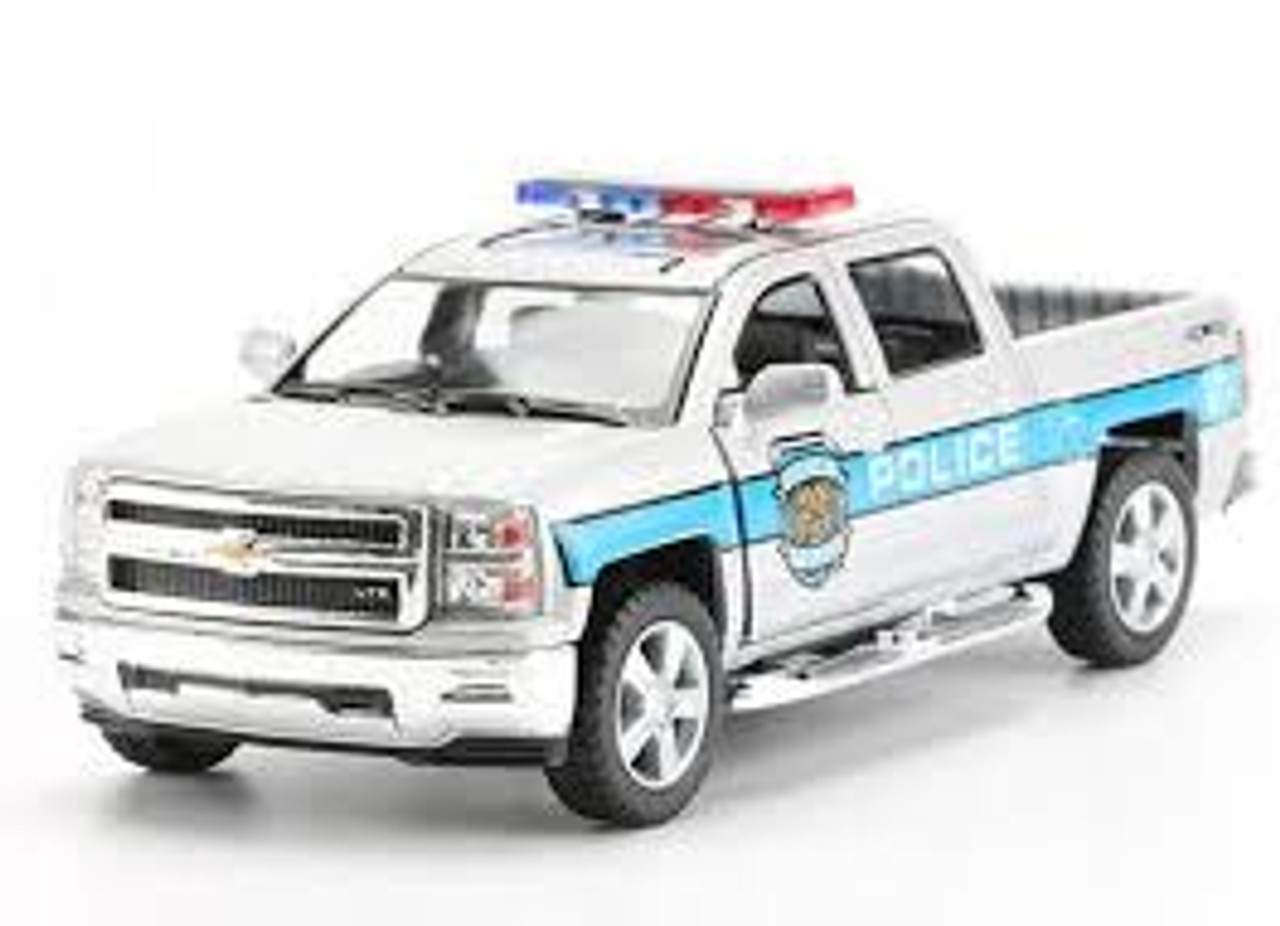 Chevrolet Truck Models >> Chevrolet Silverado Police Truck Model