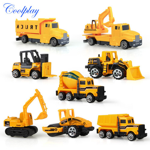 Construction Machinery Toy Set
