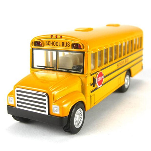 School Bus Toy Model