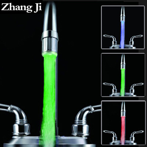 LED Light Faucet