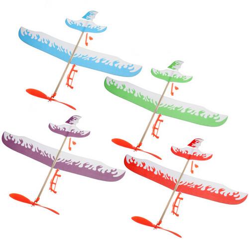 Elastic Powered Flying Glider