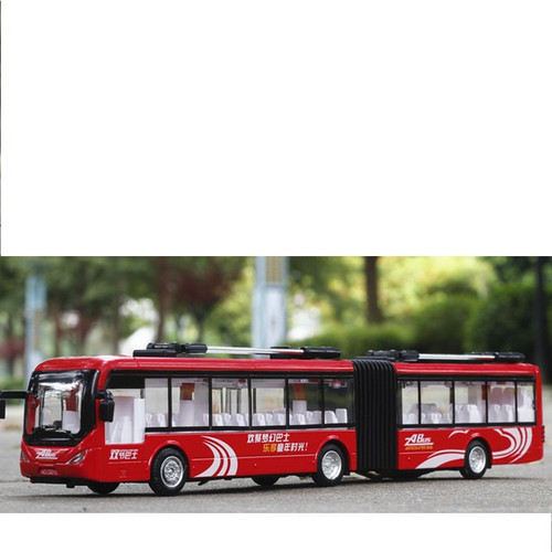Transit Bus Toy Model