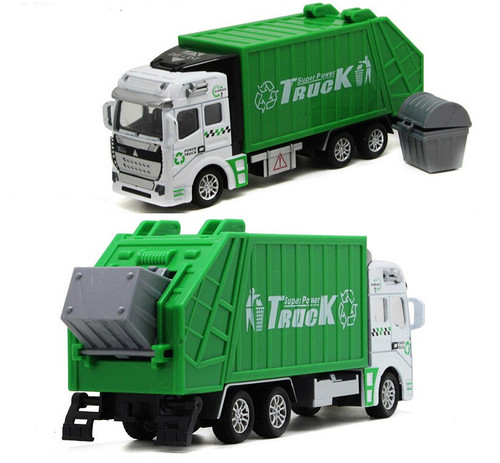 Garbage Truck Toy Model