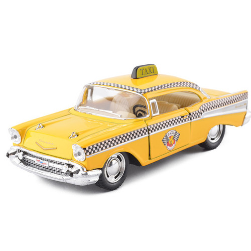 Chevrolet Bel Air Classic Taxi Toy Model
