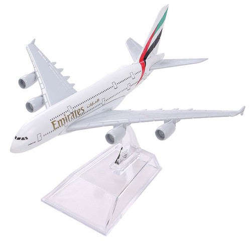 Emirates Airbus A380 Toy Model