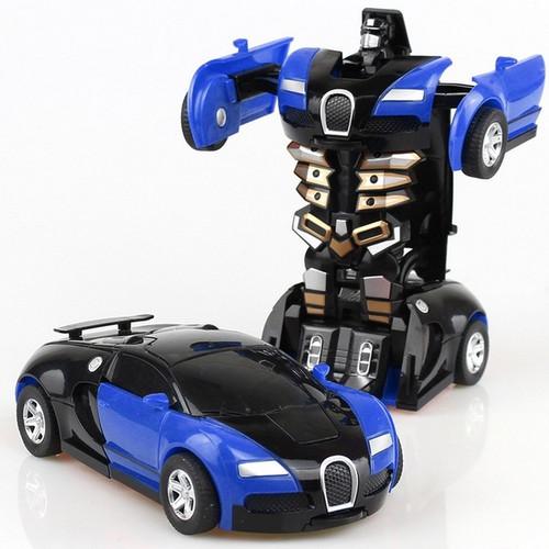 Bugatti Transformer Robot Toy Model
