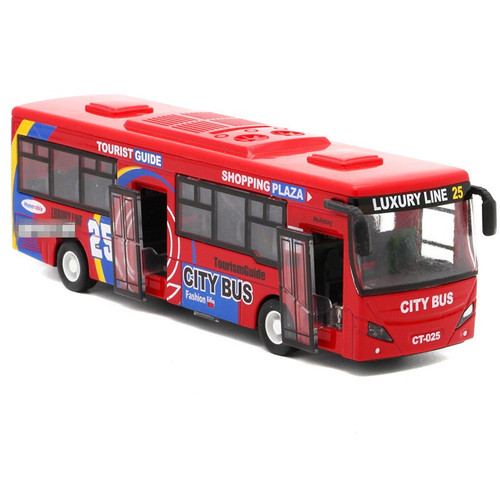 City Bus Toy Model