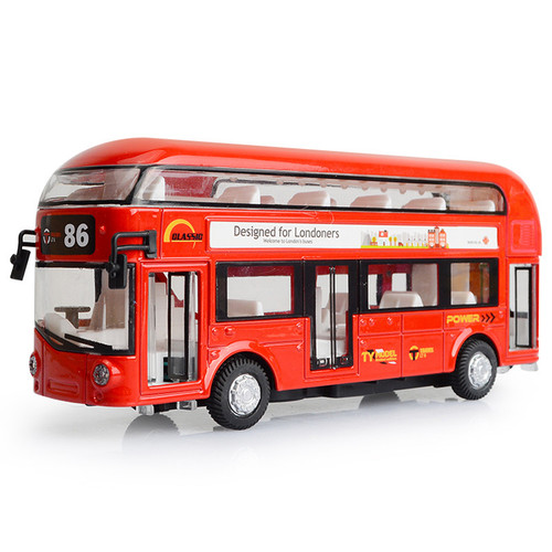 London Bus Toy Model