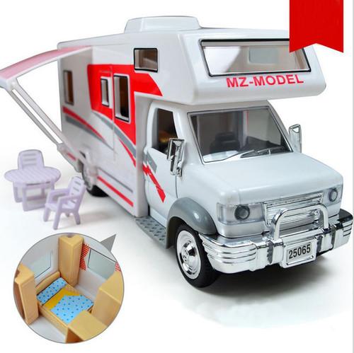 RV Caravan Toy Model