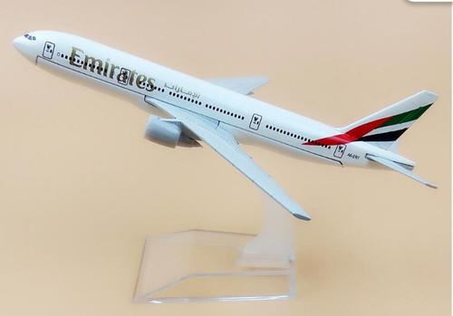 Emirates Boeing 777 Toy Model