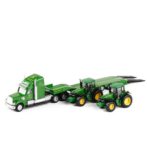 Carrier Truck w/ Tractor Toy Model