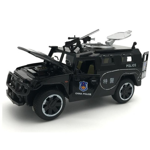 SWAT Police SUV Toy Model