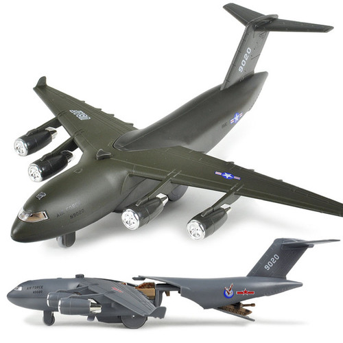 Military Cargo Plane Toy Model