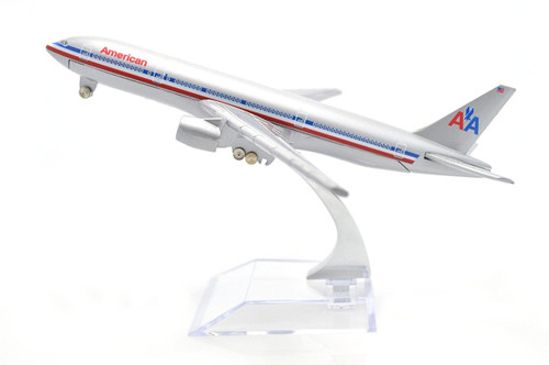 American Airline Boeing 777 Toy Model