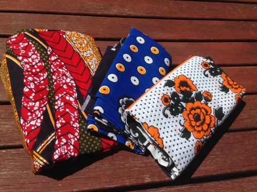 African Kanga Kitenge Fabric