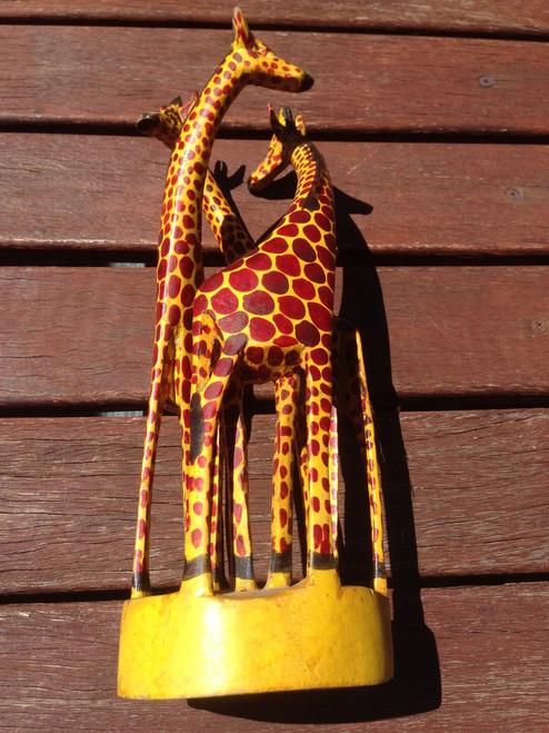 African Wildlife Safari Carving