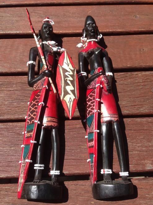 Maasai Handmade Carving
