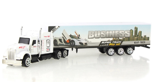 Container Truck Toy Model