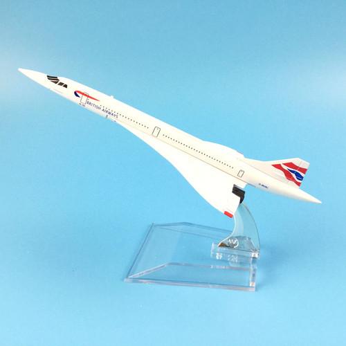 British Airways Concorde Toy Model