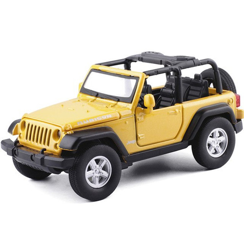 Jeep Wrangler Toy Model