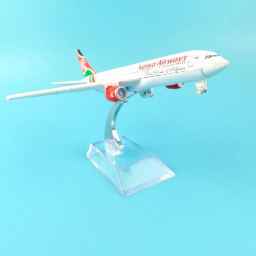 Kenya Airways Boeing 777 Toy Model