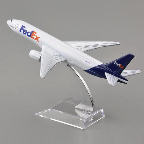 FedEx Boeing 777 Toy Model