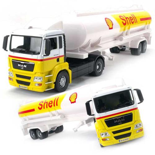 Oil Tanker Truck Toy Model