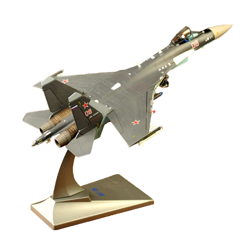 Sukhoi Su-35 Flanker Fighter Jet Toy Model