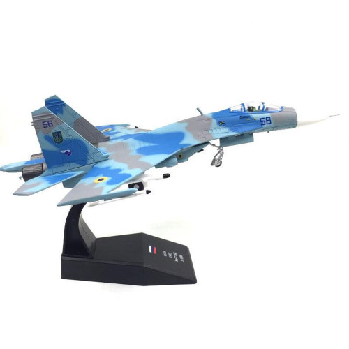 Sukhoi SU-27 Heavy Flanker Fighter Jet Toy Model