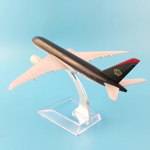 Jordanian Airlines Toy Model
