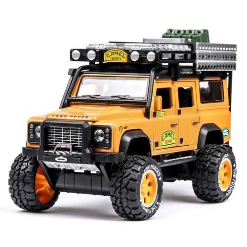 Land Rover Defender Camel Toy Model