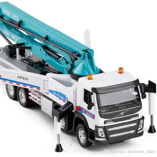 Concrete Pump Truck Diecast Replica