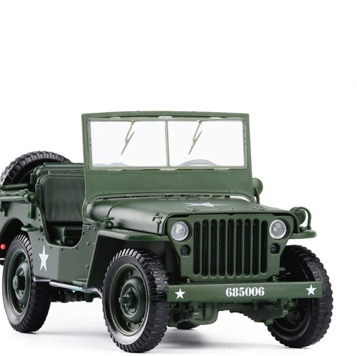 Military Jeep Toy Model
