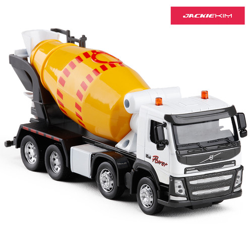 Cement Mixer Truck Toy Model