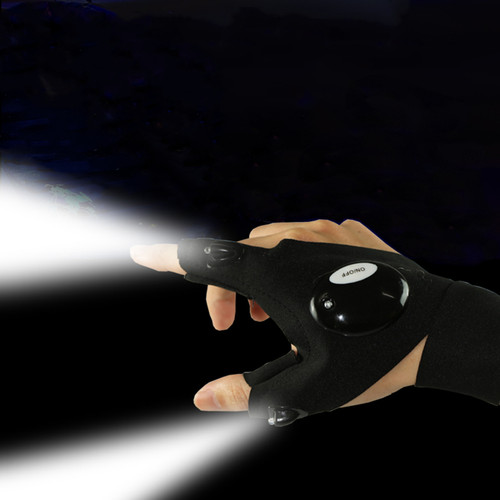 LED Flashlight Torch Glove