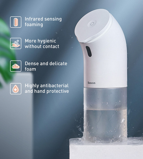 Automatic Foaming Wash Dispenser