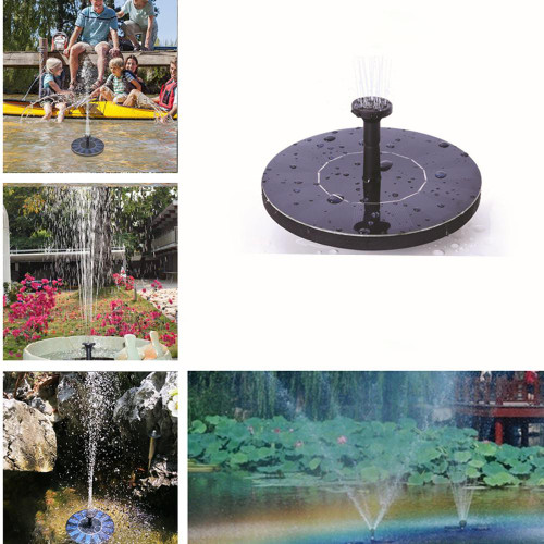 Solar Floating Water Fountain