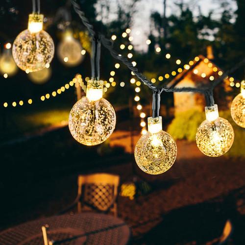 Solar Crystal Ball Fairy Lights