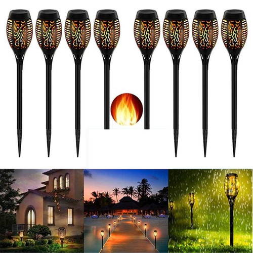 Solar LED Outdoor Flame Light
