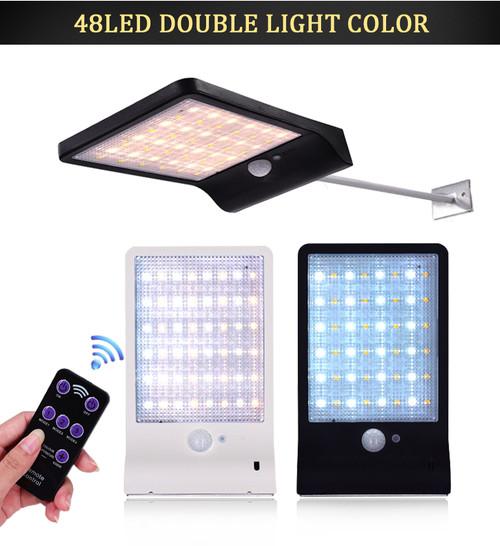 Solar Outdoor LED Wall Light