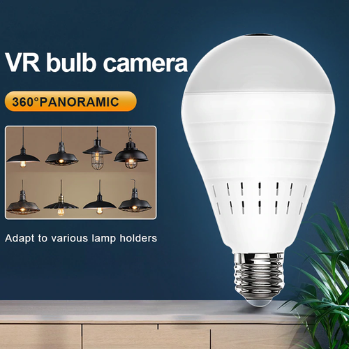 Smart Panoramic VR CCTV Camera