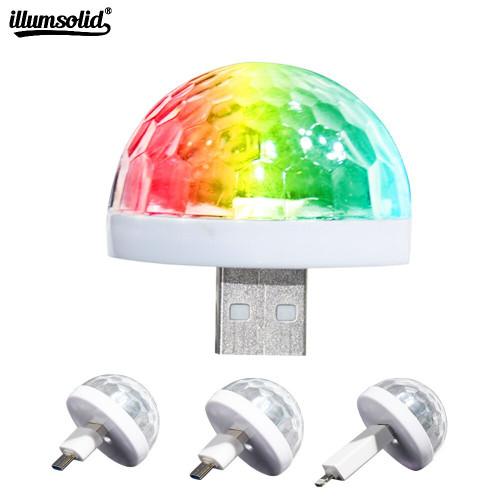 Portable USB LED Disco Light